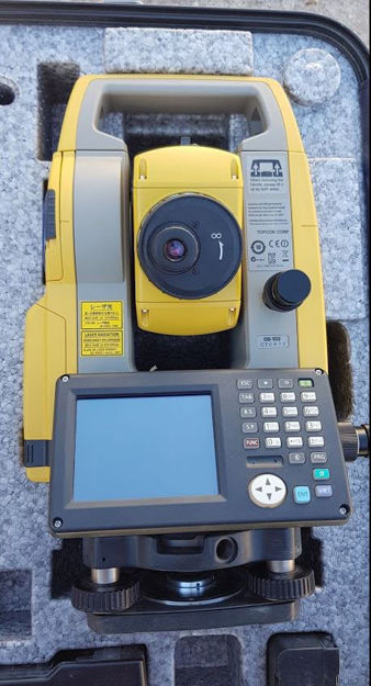 Label of TOPCON TOTAL STATION OS-103