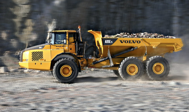 Picture of VOLVO A35 E Articulated Truck