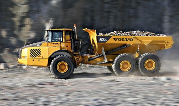 VOLVO A35 E Articulated Truck resmi