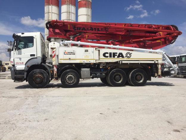 CIFA K41L XRZ CONCRETE PUMP resmi