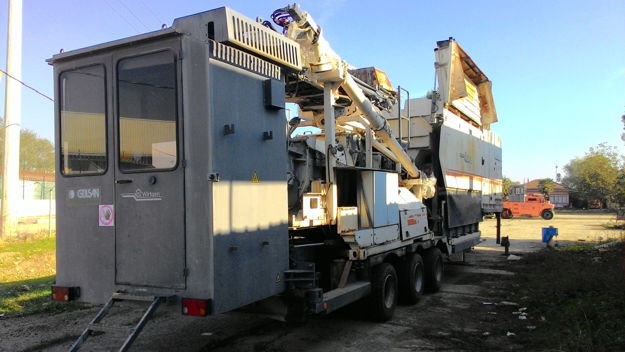 WIRTGEN KMA220 Mobile Cold Recycling Mixing Plant resmi