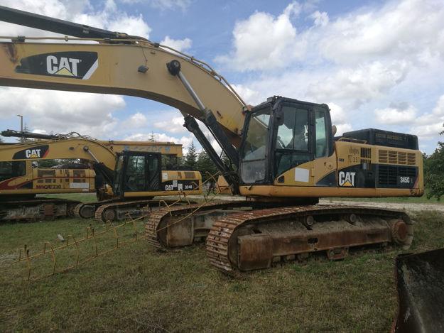 CATERPILLAR 345C BackHoe Excavator resmi