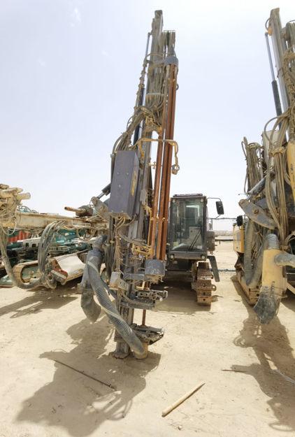 ATLAS COPCO ROCD7-11 Rock Drill resmi