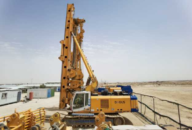 Picture of BAUER  BG-39  Track-Mounted Drilling Rig