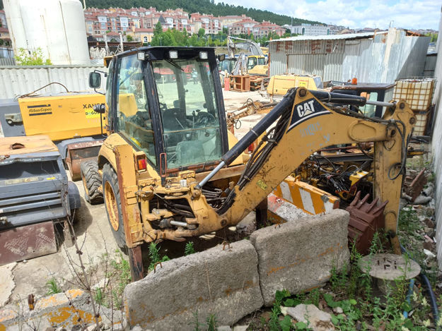 Picture of CATERPILLAR 428E B Bachoe Loader