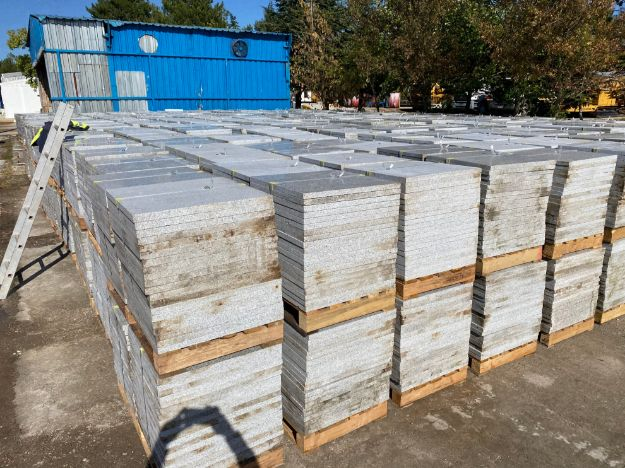 Heavy Duty Granite tile G603 60X60X3CM resmi